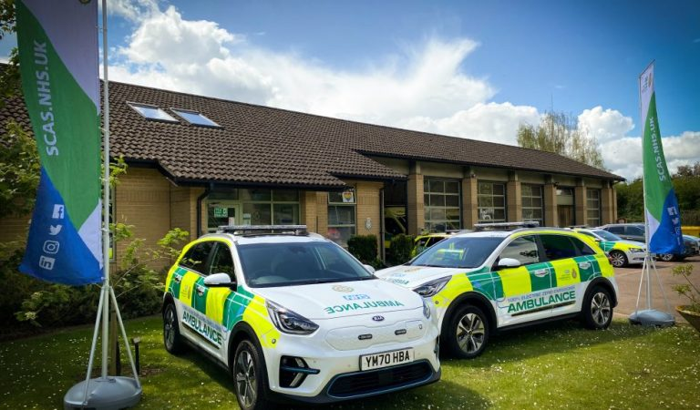 SCAS Introduce Electric Vehicles to Their Fleet